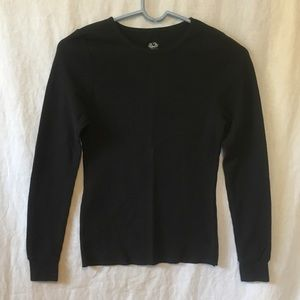 Black thermal shirt